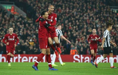 Virgil van Dijk and Fabinho played a vital role in Liverpool's success last season