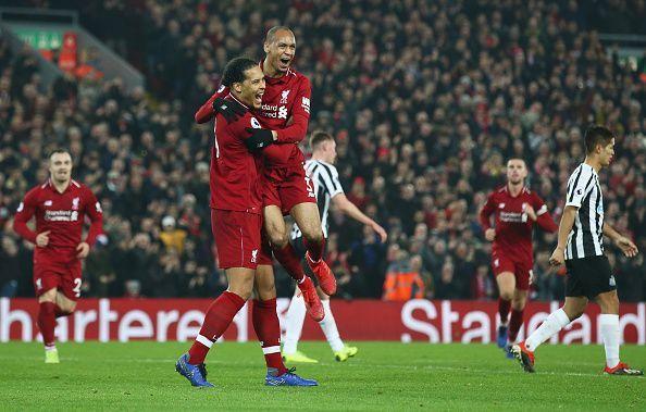 Virgil van Dijk and Fabinho played a vital role in Liverpool