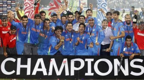 India defeated Sri Lanka in the finals of the 2011 World Cup to lift their second World Cup trophy.