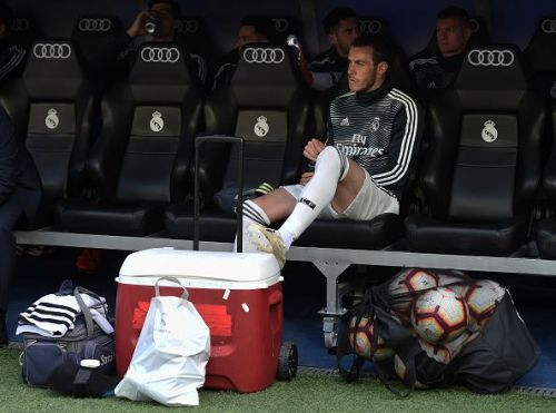 Real Madrid and Gareth Bale are in an unusual standoff.