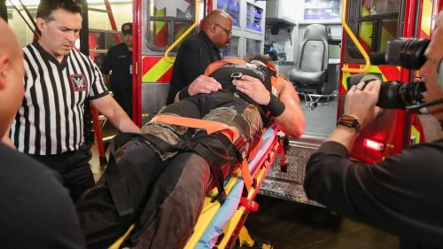 Braun was taken to a 'local medical facility'