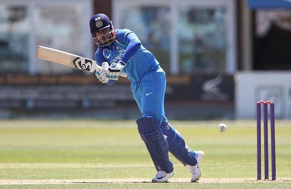 Shreyas Iyer batting for India A
