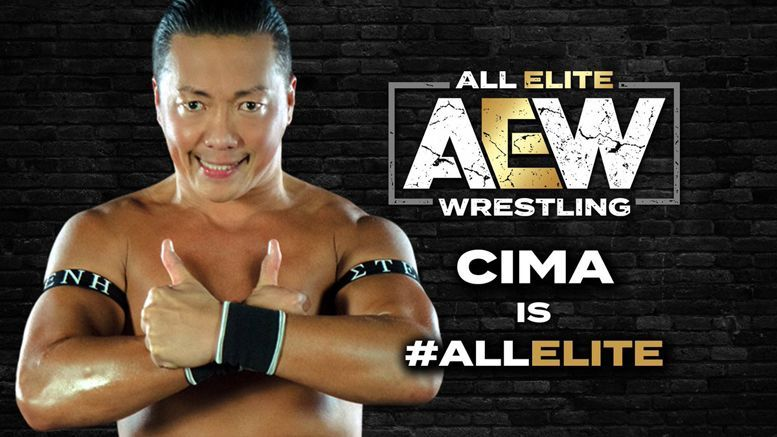 International star CIMA competes for All Elite Wrestling but can be seen overseas as well.