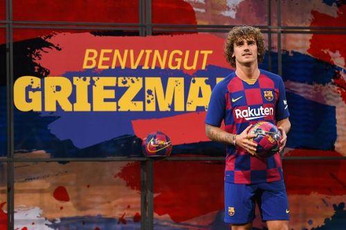 FC Barcelona unveil Antoine Griezmann