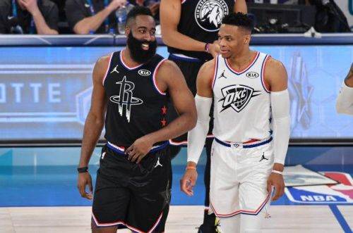 Two former MVPs sharing the court in Houston