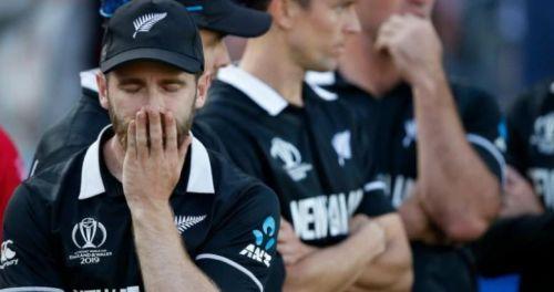 मैच हारने के बाद निराश केन विलियमसन
