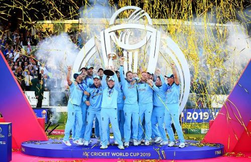 England lifted the World Cup for the first time