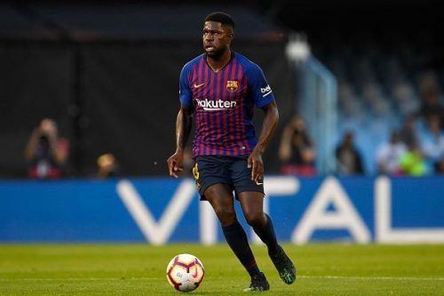 Umtiti has not made an impact since the World Cup last year
