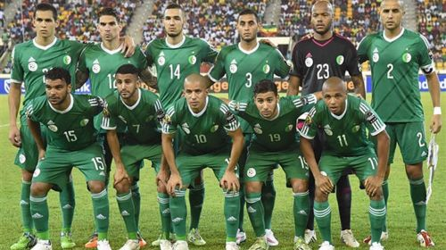 Algeria take on Guinea in the quarter-final stage of the AFCON
