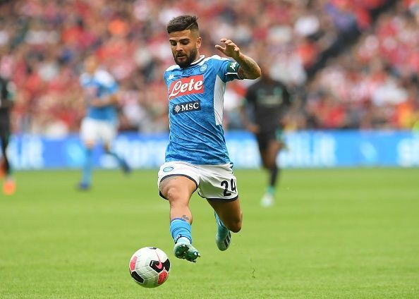 Lorenzo Insigne was the standout player on the pitch