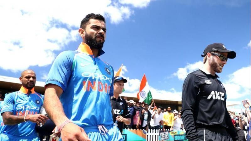 India will play New Zealand in the first semi-final
