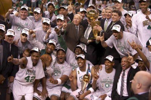 Boston Celtics vs Los Angeles Lakers, 2008 NBA Finals