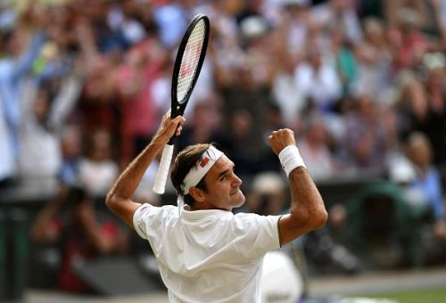Federer is in pursuit of a record-extending 8th Wimbledon title.