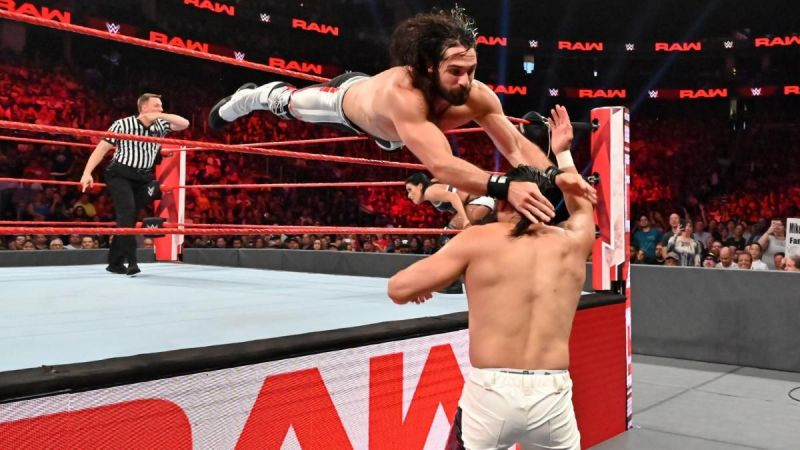 Rollins and Lynch soared to new heights in mixed-tag team action