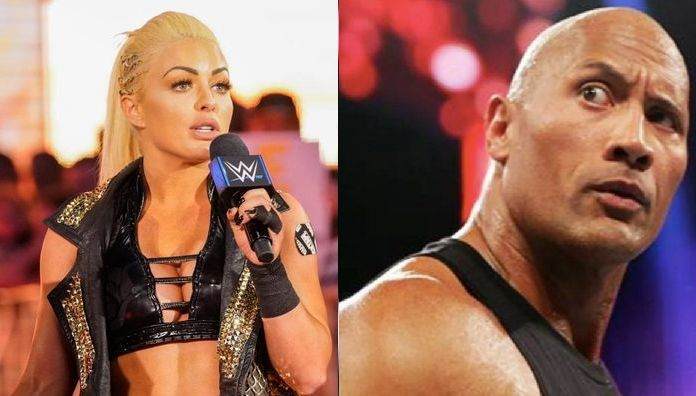 Image result for mandy rose the rock