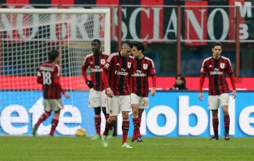 Milan have had to endure some tough times