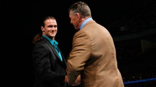 Drew McIntyre was tipped to be a future World Heavyweight champion
