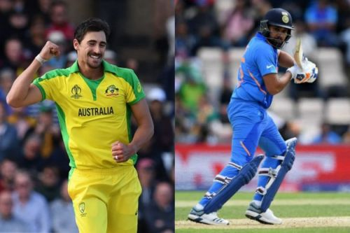 Starc and Rohit Sharma were in record-breaking form
