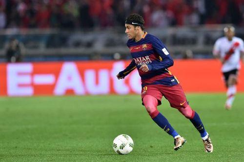 Neymar ran riot in Messi's absence