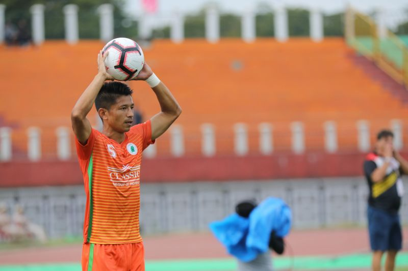 Ashok Singh played for NEROCA in the I-League last season