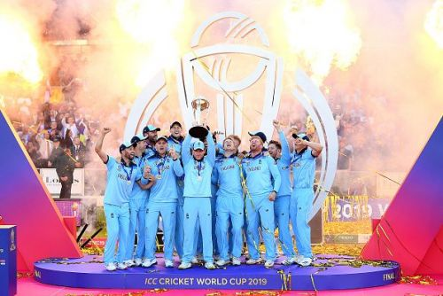 Finally, an ODI trophy for the England men's team.