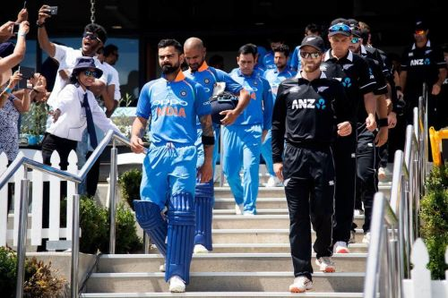 India will lock horns with an out-of-form New Zealand side in Manchester