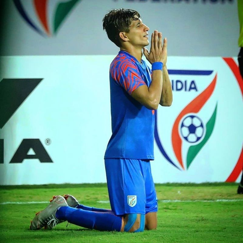 Gehlot read the game well (Image Courtesy: AIFF)