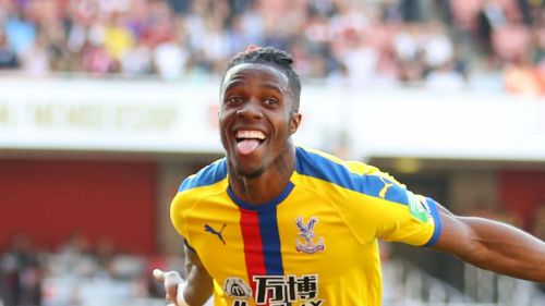 Wilfried Zaha is reportedly the subject of a bid from Arsenal