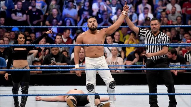 Andrade could be in line for a huge push under Bischoff