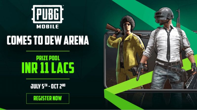 PUBG Mobile Comes to Dew Arena