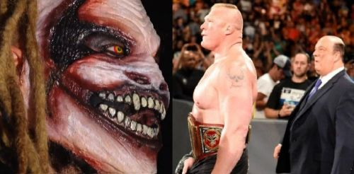 The Fiend vs Lesnar