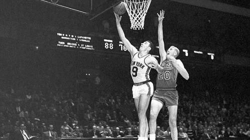Richie Guerin was picked 17th overall in the 1954 draft by the Knicks