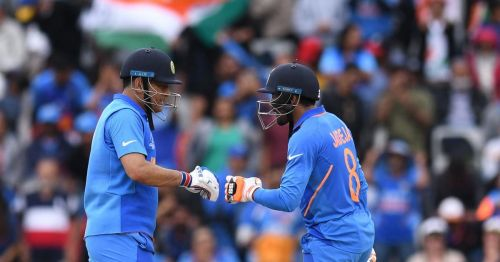 Shastri was full of praise for Dhoni and Jadeja.