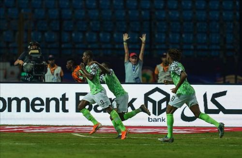 Ighalo was the star of the night
