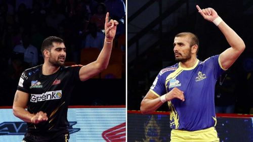 The combination of Rahul Chaudhari and Ajay Thakur in the offense can be lethal against any defense.