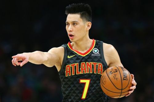 Jeremy Lin spent much of the 18-19 season with the Atlanta Hawks