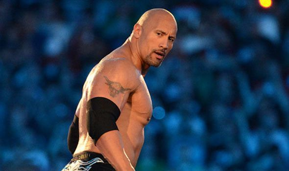 The Rock during his last WWE run