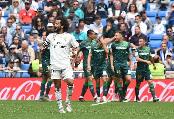 Marcelo might be on the verge of a Real Madrid exit.