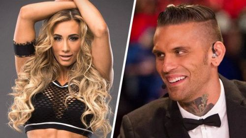 WWE Superstars, Carmella and Corey Graves