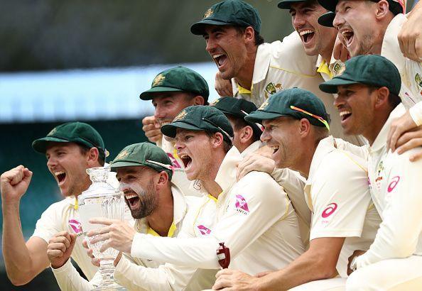 Australia won the last Ashes