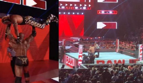 There were a number of interesting botches on Monday Night Raw this week