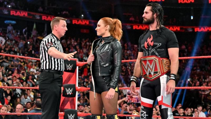 Image result for becky lynch and seth rollins