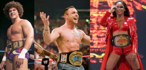 Carlito, Santino and Gail Kim all won titles on their first nights.