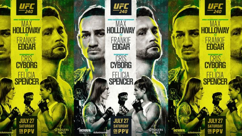 Max Holloway and Frankie Edgar will finally clash at UFC 240