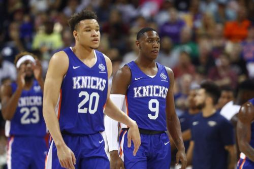 The Knicks roster is the league's newest dark horse