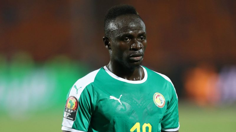 Sadio Mane - Moved into pole position on the AFCON scorers chart