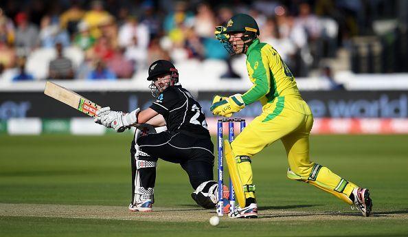 ऑस्ट्रेलिया के खिलाफ बल्लेबाजी करते केन विलियमसन