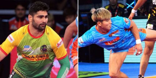 Can Jang Kun Lee provide the much-needed support in the raiding unit to Pardeep Narwal?