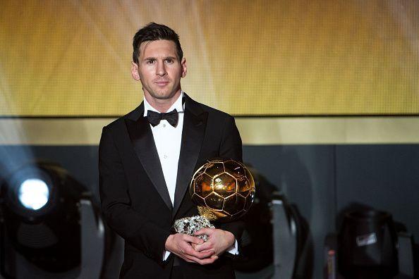 Messi has not won the Ballon d