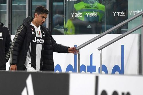 Paulo Dybala signed for Juventus in 2015